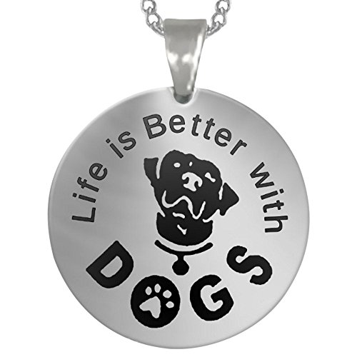 ... Silver Necklace Gift Source · Cari Harga Buytra Necklace Charm Pendant I Love You Mom Online Source Quality Dog Charm