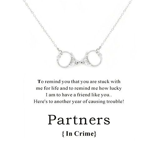 Cyberny Handcuff Charm Best Friends